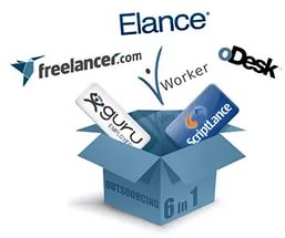 elance, odesk and freelancer.com